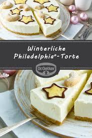 winterliche philadelphia torte