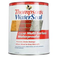 Tile Guard Grout Sealer Home Depot by Thompson U0027s Waterseal 5 Gal Clear Multi Surface Waterproofer