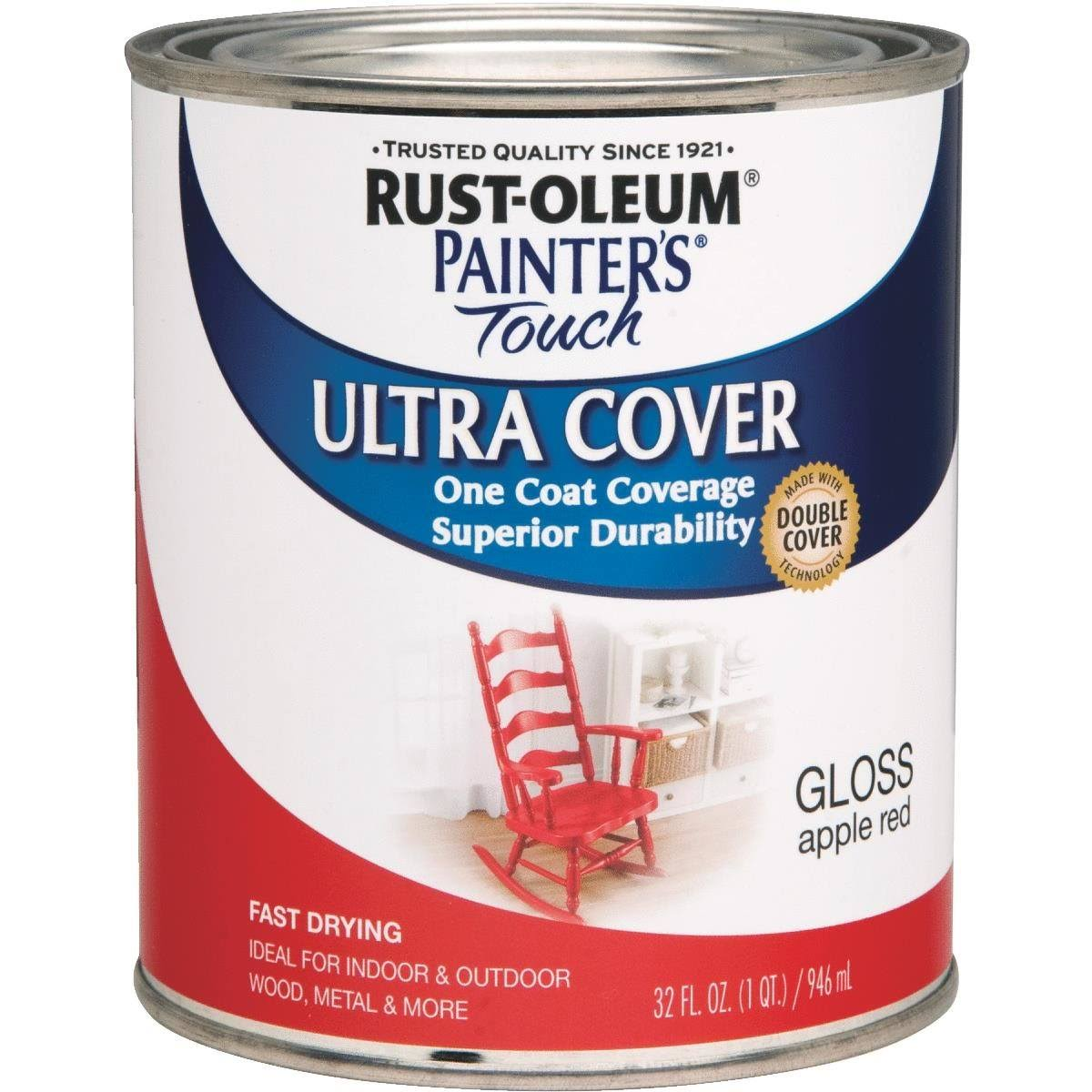 Rust-Oleum Painters Touch Latex - Apple Red