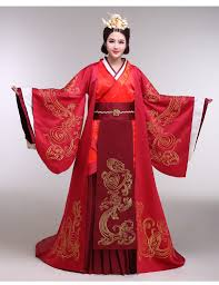 han chinese clothing ancient costume couture bridal dress hanfu xi