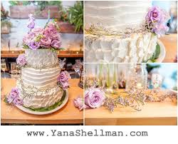 Rustic Pink Wedding Cake At Talulas Garden By Philadelphia Photographer Amazing