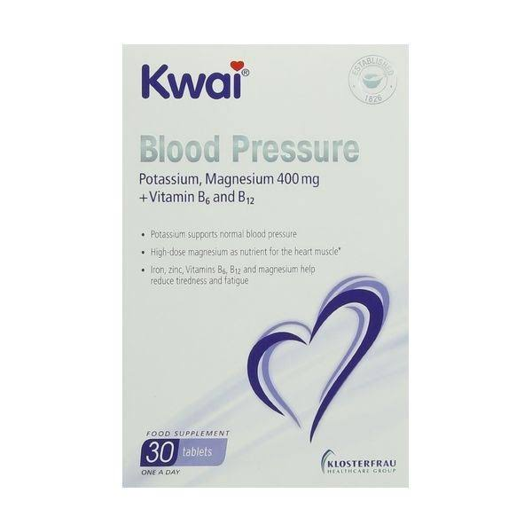 Kwai Blood Pressure Relief Food Supplement - 30ct