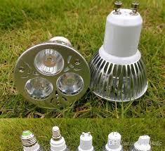3w led bulb gu10 e27 mr16 e14 gu5 3 base spotlight 3x1w spot light