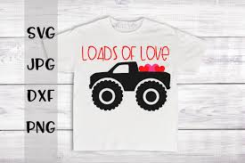 100 Truck Loads Available Of Love Monster A Valentines SVG For Crafters