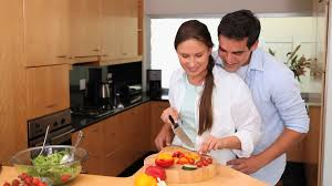 couples amour cuisine cooking hd stock 785 741 325 framepool