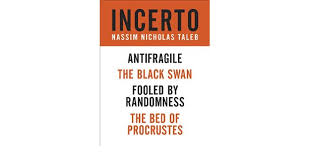 incerto 4 book bundle fooled by randomness the black swan the bed