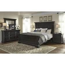 Caldwell 4 Piece King Bedroom Set In Dark Expresso