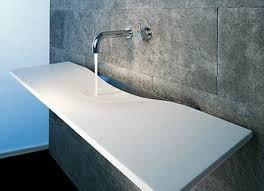 moderne waschbecken design minimalistisch moderne