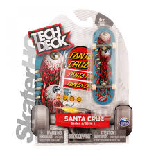 Tech Deck Finger Skateboard Tricks by Tech Deck Santa Cruz Eyes Series 2 Skater Hq
