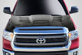 100 Truck Hoods Carbon Creations Viper LOOK Hood For 20142019 Toyota Tundra EBay