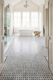 basket weave tile bathroom traditional with basket weave carrara