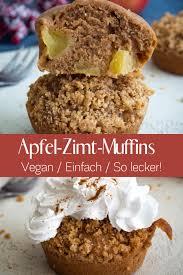 einfache apfel zimt muffins