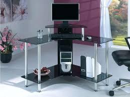 Small White Corner Computer Desk Uk by Computer Desk Home Corner Computer Desk Small For Office Ideas