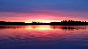 100 Mary Lake Ontario Harry Lodge Sunset Country Canada