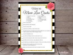 Bridal Shower Qoutes by Bridal Movie Quote Game Version 2 U2013 Printabell U2022 Create