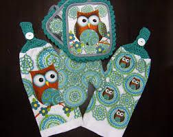 Owl kitchen decor