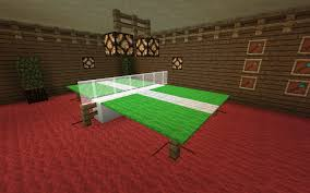 Detail Ping Pong Table Minecraft DesignsMinecraft DecorationsMinecraft