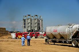 100 Safer Trucking Think Fracking Isnt Safe Make It Bloomberg