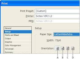 Print Documents In InDesign