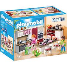 playmobil 9269 große familienküche playmobil city