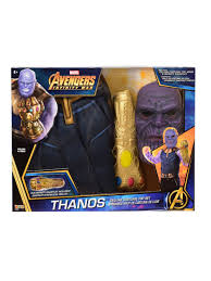 Thanos Infinity Gauntlet Set Boys Costumes For 2018 Wholesale