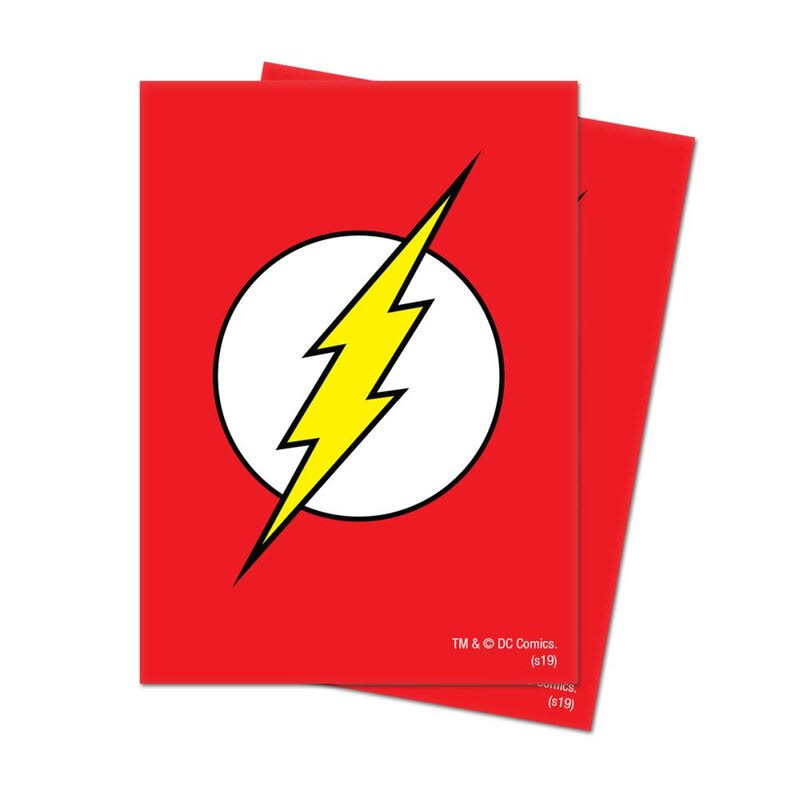 Ultra Pro Deck Protector Sleeves: Justice League - The Flash (65)