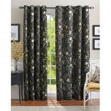 better homes and gardens calista print room darkening curtain