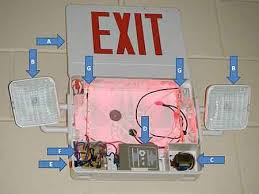 testing exit and emergency lights engineering