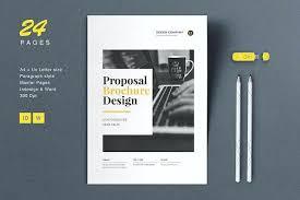 Proposal Brochure Layout Word Tri Fold Template 2010 Design Templates