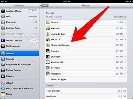 iPad Tips How To Find Out How Much Storage Space Is Being Used by