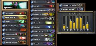 sprucing up my druid deck druid class discussion hearthpwn