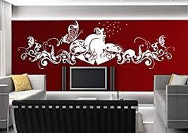 aidai wandtattoo wohnzimmer schlafzimmer kinderzimmer küche 30 farben zur wahl liebe fee herz schmetterling wsh02