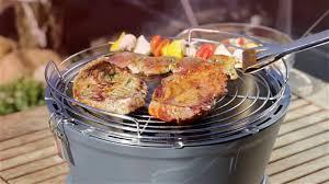 cuisine quigg bbq gril charbon de bois à ventilation électrique