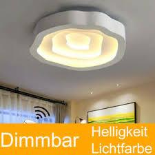 leuchten rgb led blumen design deckenle wohnzimmer