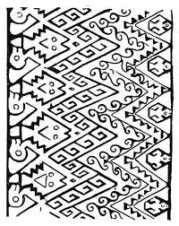 Southwest Native American Coloring Page