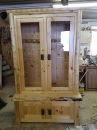 Custom Rustic Gun Cabinet