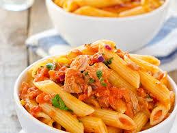 pates au thon moutarde pâtes au thon et à la tomate recette de pâtes au thon et à la