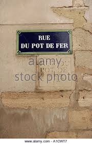 rue pot de fer rue du pot de fer stock photos rue du pot de fer stock images