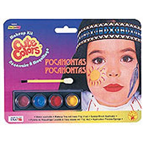 Childs Indian Costume Make Up