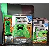 Minecraft Twin Bedding by Amazon Com Minecraft Twin Full Bedding Comforter Home U0026 Kitchen