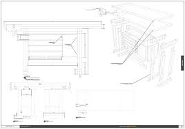 designing a work bench with sketchup