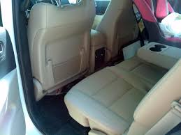 2015 Dodge Durango Captains Chairs by Black Tan Interior Question