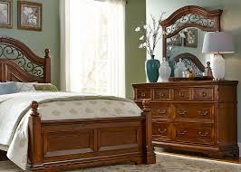 6 drawer dresser and mirror with hardwood solids cherry veneer