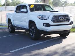 Pre-Owned 2016 Toyota Tacoma TRD Sport Double Cab In Jacksonville ... New 2018 Toyota Tacoma Trd Sport Double Cab In Elmhurst Offroad Review Gear Patrol Off Road What You Need To Know Dublin 8089 Preowned Sport 35l V6 4x4 Truck An Apocalypseproof Pickup 5 Bed Ford F150 Svt Raptor Vs Tundra Pro Carstory Blog The 2017 Is Bro We All Need Unveils Signaling Fresh For 2015 Reader