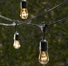outdoor commercial string globe lights with hanging