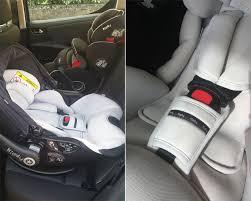location voiture avec siège bébé en voiture avec sweetychou test de l evo lunafix kiddy bull a bb