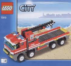 City - Off-Road Fire Truck And Fireboat [Lego 7213] | Legos ...