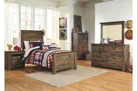 Gray Barnwood Bedroom Furniture Rustic Suites King Sets Bed