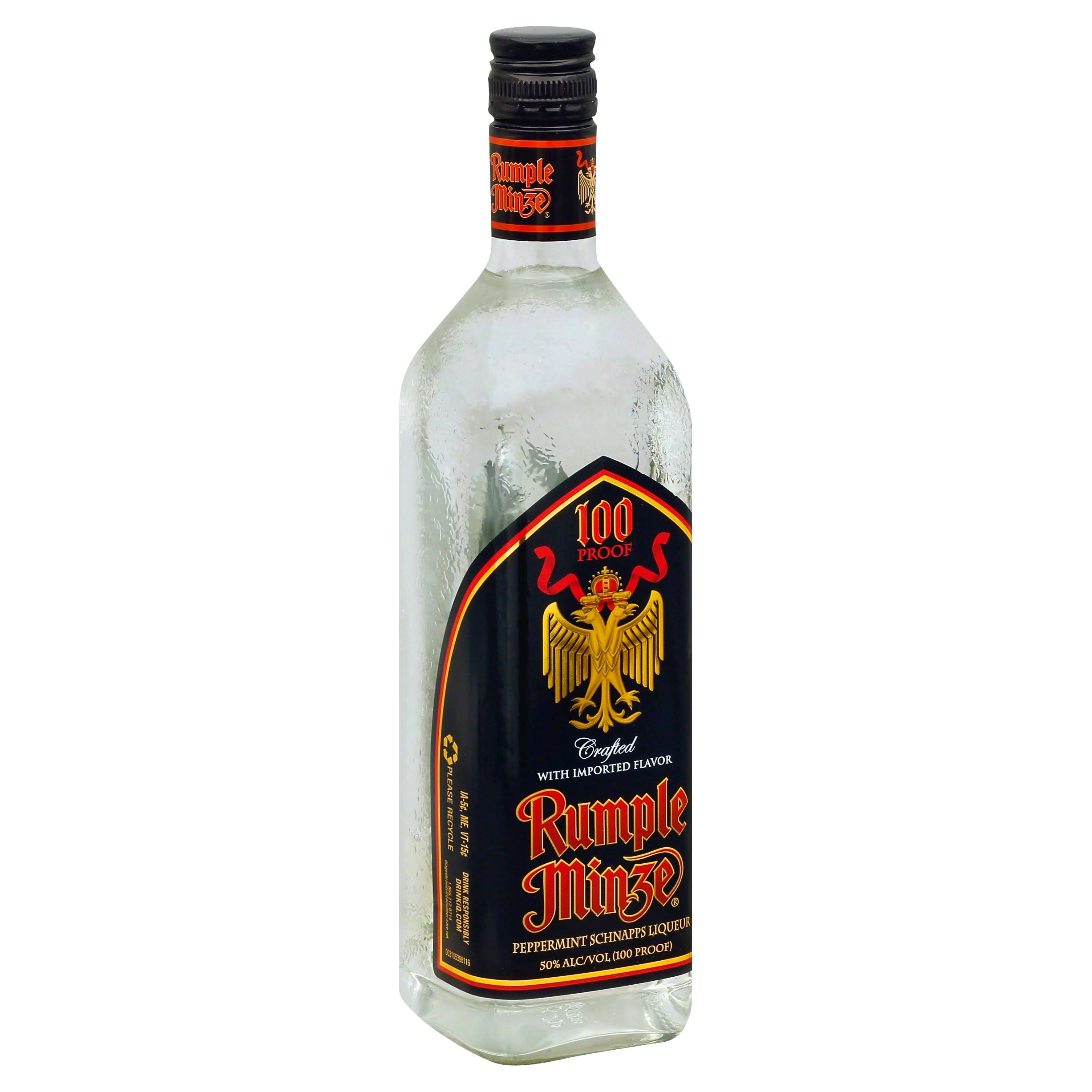 Rumple Minze Liqueur, Peppermint Schnapps - 750 ml