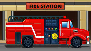 100 Model Fire Truck Kits Engine Kids Videos Station Compilation